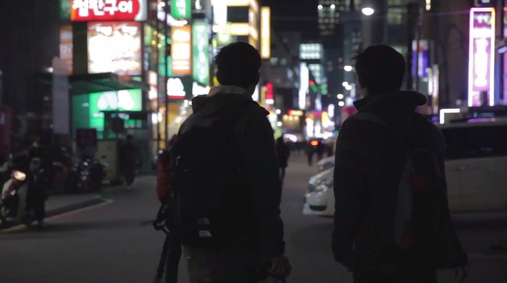 """A scene from the """"Save My Seoul"""" trailer. (YouTube screen capture)"""
