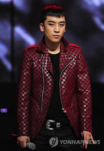 Big Bang member Seungri (Yonhap)