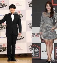 Super Junior's Sung-min and musical actress Kim