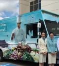 Korean Air food truck