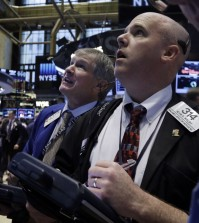 The U.S. Stock market continues to fluctuate, but has ended on a good note Tuesday. (AP Photo/Richard Drew)