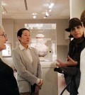 Sol Jung is the coordinator of the Korean ceramics exhibit inside Princeton University Art Museum.