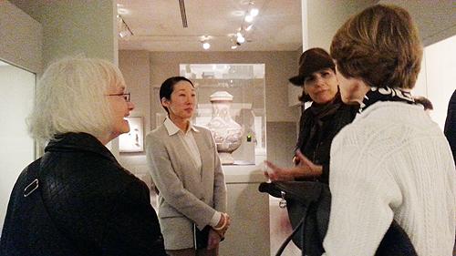 Sol Jung is the coordinator of the Korean ceramics exhibit inside Princeton University Art Museum.