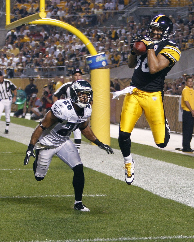 Hines Ward played a multitude of positions for his high school football team, but capitalized on his strengths as a wide receiver to eventually receive the Superbowl MVP award in 2006 (AP Photo/Gene J. Puskar)