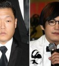 Psy, left, and Lee Soo from M.C. The Max (Yonhap)
