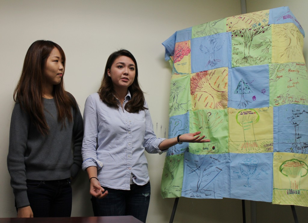 Members of UCLA 's MHEP introduce a new mentoring project  for Korean American high school students Wednesday.