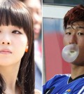 Minah and Son ended their short relationship due to distance. (Korea Times file)