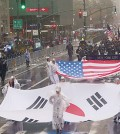 The 34th Korean Parade in New York was held Saturday down Avenue of the Americas in Manhattan.
