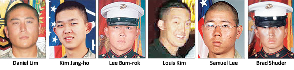 Korean American casualties from the Iraq and Afghanistan wars