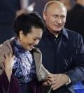 Vladimir Putin, Peng Liyuan