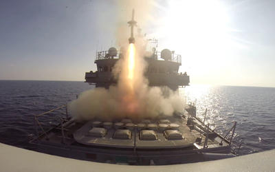 South Korea held a live-fire drill at sea near a tense border line on Friday. (Yonhap)
