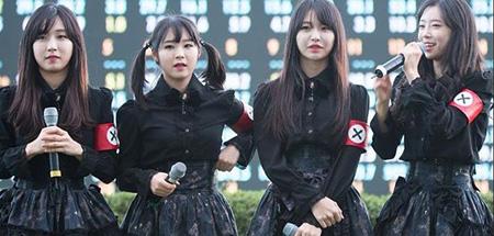 K-pop group under fire for Nazi-like uniforms | The Korea Times