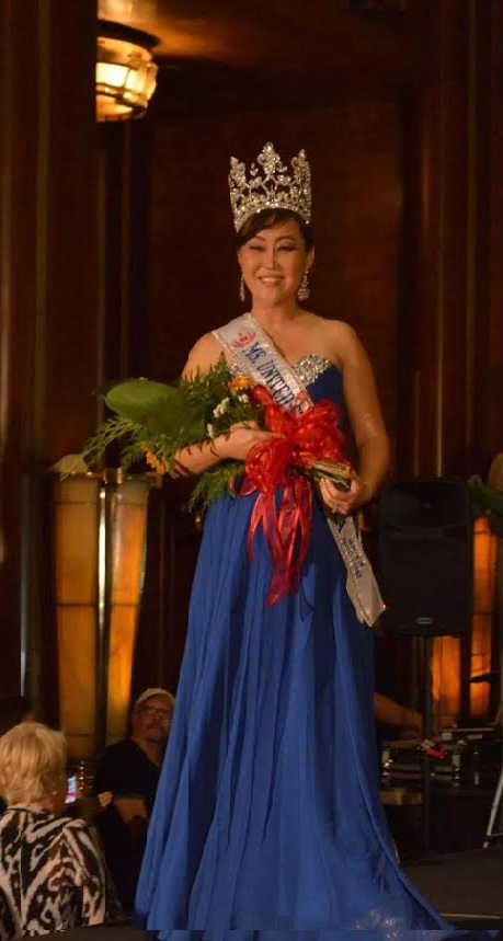 Inny Kim, 36, took home the crown for 2015 Ms. USA Woman of Achievement Nov. 9.