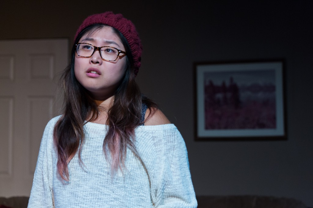 "Kim Kahyun in ""hey brother"" at Son of Semele in Los Angeles. (Photo by Joseph Bornilla)"