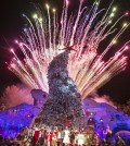 "Los Angeles Mayor presents Universal Studios Hollywood with first ever ""Grinchmas"" Mayoral Proclamation, going the Grinch, Max the dog and the Whoos of Whoville to light the ""Grinchmas"" Tree Dec. 4, 2014. (Photo by David Sprague)"
