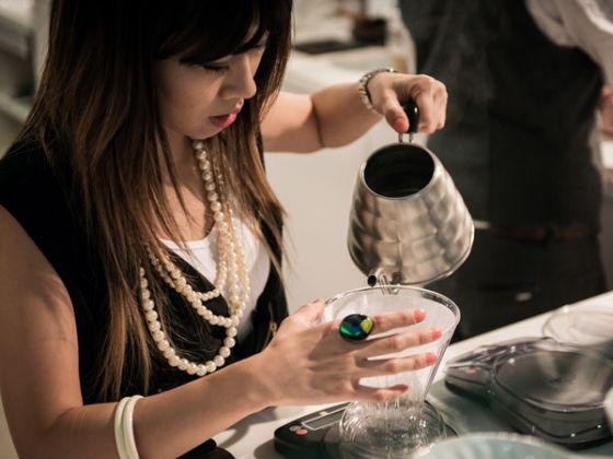 Angie Chun of Coffee Code in Buena Park, Calif. (Korea Times file)
