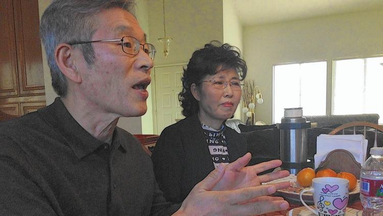 Gabriel and Elizabeth Cho of San Dimas answered a call to fill a shortage of Korean foster parents (Steve Lopez, Los Angeles Times)