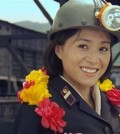 """A still from North Korean film """"Cpmrade Kim Goes Flying"""" (AP)"""