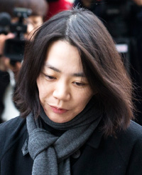 Korean Air's ex-vice president Heather Cho (Korea Times file)