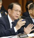 Chief of staff Kim Ki-choon at parliamentary hearing (Yonhap)
