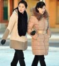 Korean Women Walking