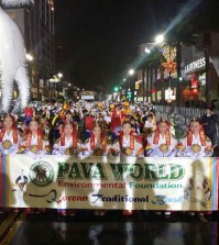 The Pava World Environmental Foundation had 130 Korean American members participate in the 2014 Hollywood Christmas Parade Sunday.