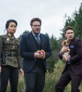 Actors Diana Bang, Seth Rogen and James Franco from The Interview (Courtesy of Sony Pictures)