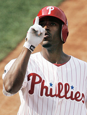 Jimmy Rollins (Korea Times file)
