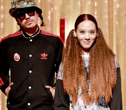 Yoon Mi-rae, right, and her husband Tiger JK. (NEWSis)