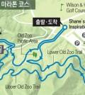 Course for the Turtle Marathon @ Griffith Park Jan. 31