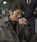 "Brian Tee as Chinese American hitman Chaoz in the Korean film ""No Tears for the Dead"" (Courtesy of CJ Entertainment)"