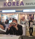 KOTRA installed Korea Pavilion at CES 2015 with 54 Korean tech businesses. KOTRA LA Director General Park Dong-hyung said participation of Korean companies in the event had increased 35 percent since last year.