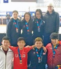 U.S. junior short track team.