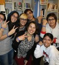 Members of a Hallyu fanclub in Argentina which led the effort to get K-dramas onto local television. (Yonhap)