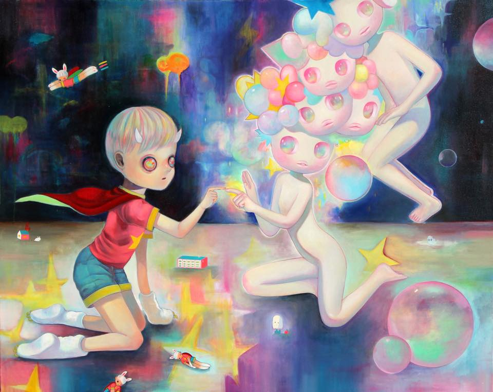 """First Contact"" by So Youn Lee & Hikari Shimoda (Facebook)"