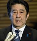 Japanese Prime Minister Shinzo Abe (AP Photo/Kyodo News)
