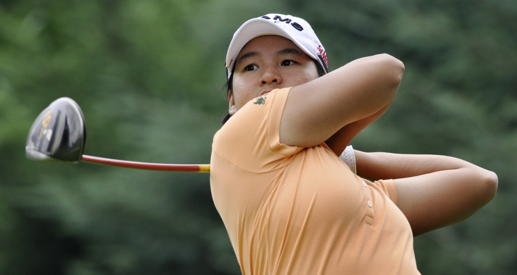 It's been a while since we've seen Yani Tseng's name at the top of the leaderboard.