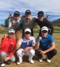 (Back row from left, clockwise) Jang Ju-young, Park Chan-jun, Park Gi-tae, Park Chan-hee, Lee Kwon-sool, Kim Seo-yeong. (Korea Times)