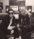 BTS leader Rap Monster, left, and Warren G, right (via Star News)