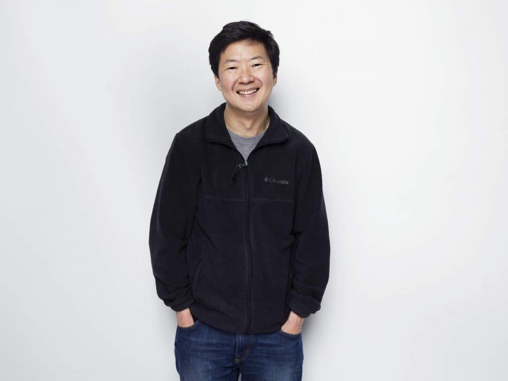 """Actor Ken Jeong poses for a portrait during the Sundance Film Festival in Park City, Utah. Jeong says that much of the inspiration for his memorably angry Mr. Chow character in """"The Hangover"""" movie was a reaction to his wife's fight against breast cancer at the time. He explained in a short film to accompany the upcoming PBS documentary, """"Cancer: The Emperor of All Maladies,"""" that he was caring for his wife, Tran Ho, and their one-year-old twins as she was undergoing chemotherapy. """"Tran encouraged me to do it,"""" Jeong said in an interview. """"She thought I was suffering from caregiver burnout."""" (Photo by Victoria Will/Invision/AP)"""