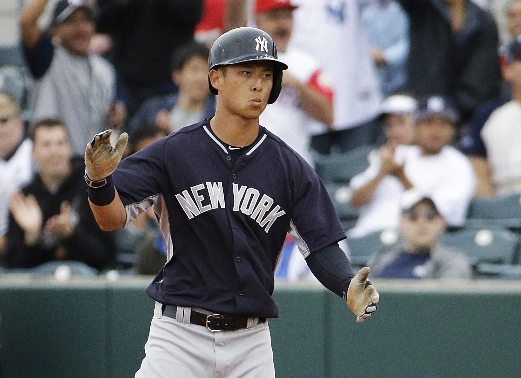 Times Up Rob 2b Korea The American Korean Refsnyder Call – Yankees 3jLA5R4