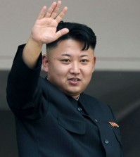 In this July 27, 2013 file photo, North Korean leader Kim Jong Un waves to spectators and participants of a mass military parade celebrating the 60th anniversary of the Korean War armistice in Pyongyang, North Korea. The leader of North Korea is among 26 world leaders who have accepted invitations to Moscow to take part in celebrations marking the 70th anniversary of the Soviet Union\'s victory over Nazi Germany, Russian Foreign Minister Sergey Lavrov said Tuesday, March 17, 2015. (AP Photo/Wong Maye-E)
