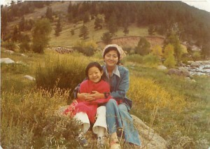 Rhea with her mother Suh Young-ja, in Boulder, Colo., in 1978. (Courtesy of Rhea Suh)