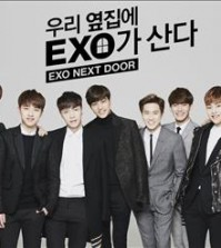 "Promotion image for ""EXO Next Door"" (Yonhap)"