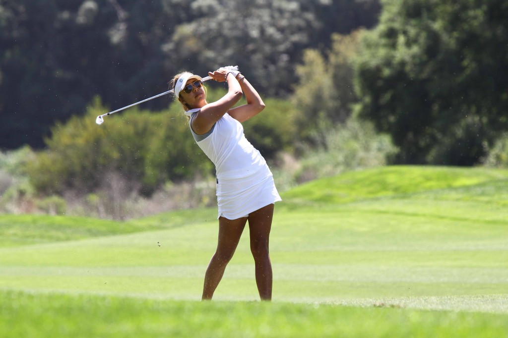 Alison Lee tied the course record 9-under 63 during the Kia Classic at the Park Hyatt Aviara Resort in Carlsbad, Calif. (Courtesy of Kyumin Shim)