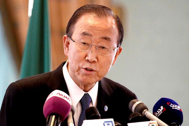 United Nations Secretary General Ban Ki-moon (AP Photo)