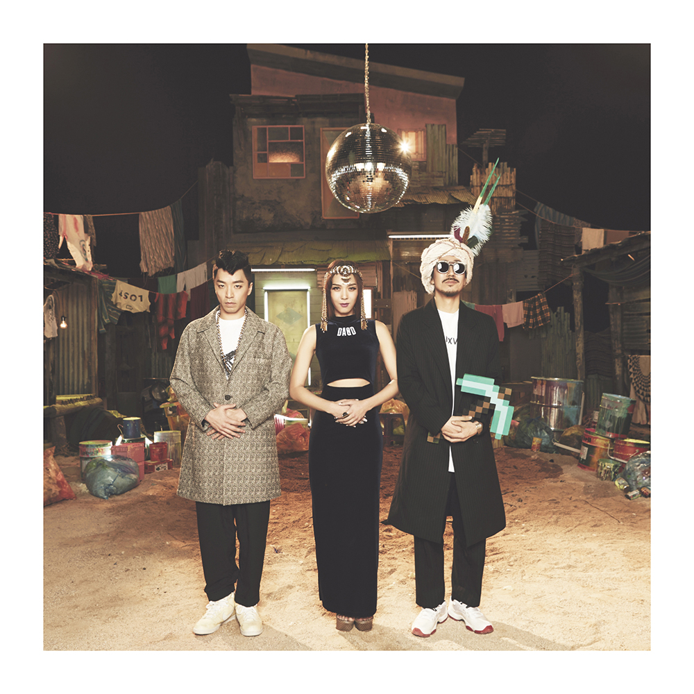 Bizzy, Yoonmirae, Tiger JK of MFBTY (Courtesy of MFBTY)