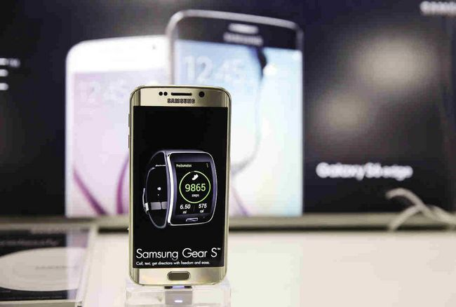 Samsung is hoping to reverse its dimming smartphone fortunes with two new phones set for release in 20 countries. (AP Photo/Eric Risberg)
