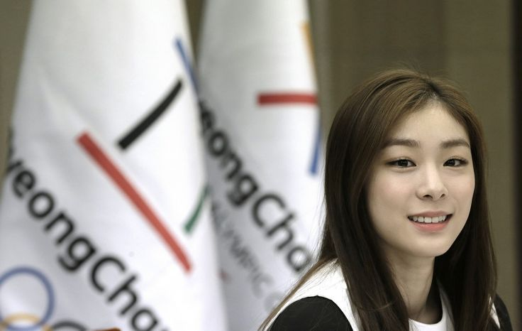 Former South Korean Olympic figure skater Kim Yuna (AP Photo/Ahn Young-joon)