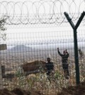 A barbed-wire fence on the North Korean-Chinese border (Yonhap)